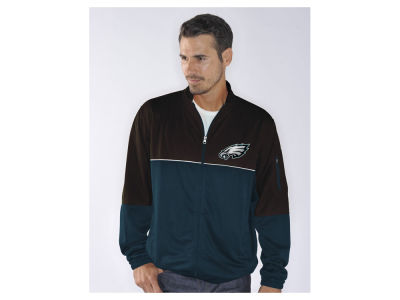 Philadelphia Eagles GIII NFL Men's Flip Shot Track Jacket