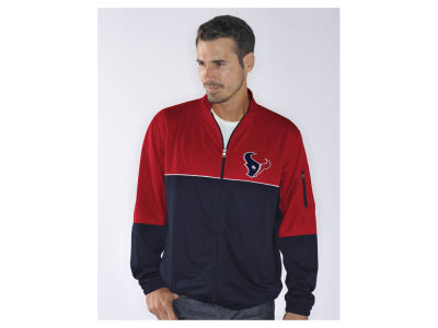 Houston Texans NFL Men's Flip Shot Track Jacket