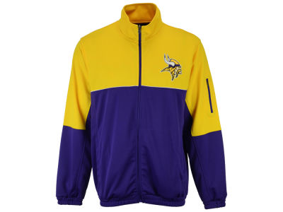 Minnesota Vikings GIII NFL Men's Flip Shot Track Jacket