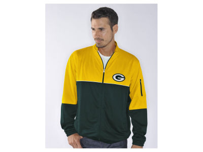 Green Bay Packers NFL Men's Flip Shot Track Jacket