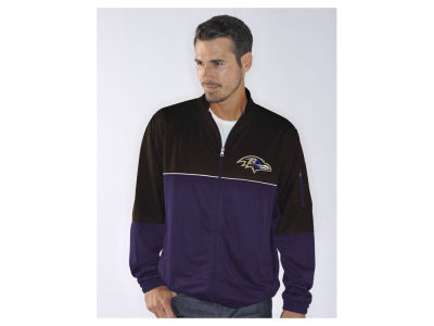 Baltimore Ravens GIII NFL Men's Flip Shot Track Jacket
