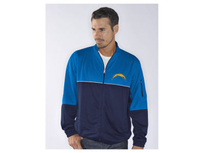 Los Angeles Chargers GIII NFL Men's Flip Shot Track Jacket