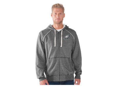 Philadelphia Eagles GIII NFL Men's Victory Mock Twist French Terry Full Zip Jacket