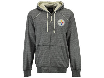 Pittsburgh Steelers GIII NFL Men's Victory Mock Twist French Terry Full Zip Jacket