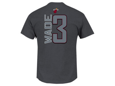 Miami Heat Dwyane Wade Majestic NBA Youth Reflective Pop Player T-Shirt