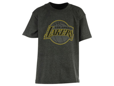 Los Angeles Lakers Majestic NBA Youth Reflective Pop Logo T-Shirt