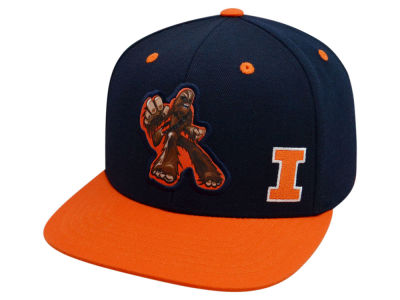 Illinois Fighting Illini Top of the World NCAA Chewy Snapback Cap