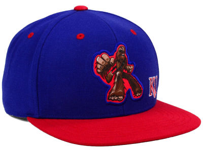 Kansas Jayhawks Top of the World NCAA Chewy Snapback Cap