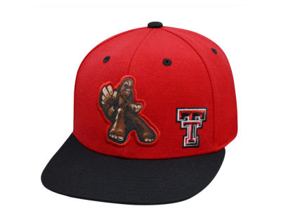 Texas Tech Red Raiders Top of the World NCAA Chewy Snapback Cap