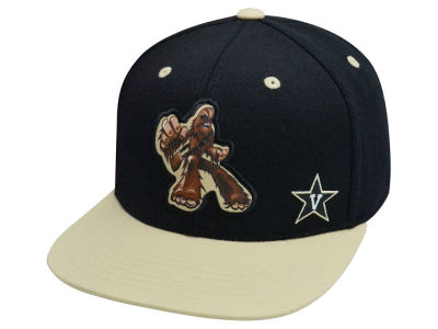 Vanderbilt Commodores Top of the World NCAA Chewy Snapback Cap