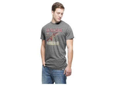 San Francisco 49ers '47 NFL Men's Retro Tri-State Triblend T-Shirt