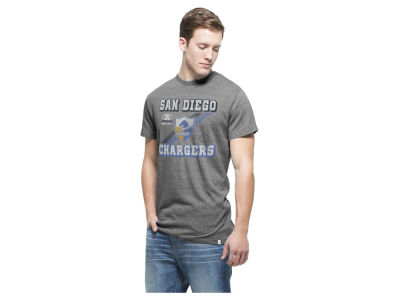 Los Angeles Chargers '47 NFL Men's Retro Tri-State Triblend T-Shirt
