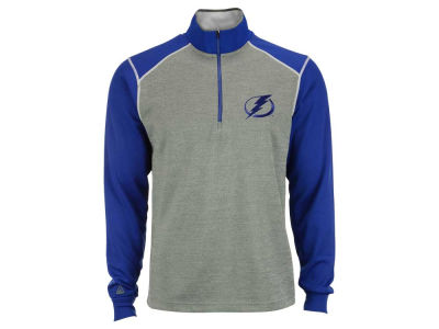 Tampa Bay Lightning NHL Men's Breakdown 1/4 Zip Pullover