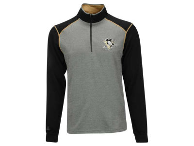 Pittsburgh Penguins NHL Men's Breakdown 1/4 Zip Pullover