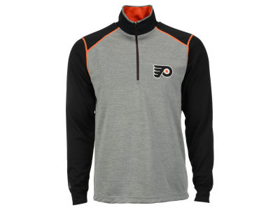 Philadelphia Flyers NHL Men's Breakdown 1/4 Zip Pullover