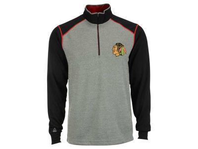 Chicago Blackhawks NHL Men's Breakdown 1/4 Zip Pullover