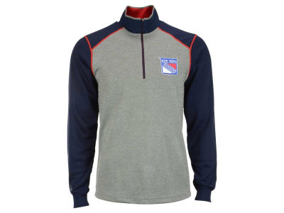 New York Rangers NHL Men's Breakdown 1/4 Zip Pullover