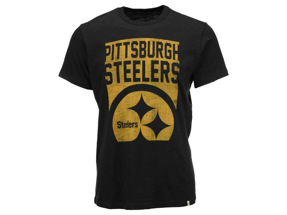 9063d1d04 Pittsburgh Steelers  47 NFL Men s Billboard Scrum T-Shirt