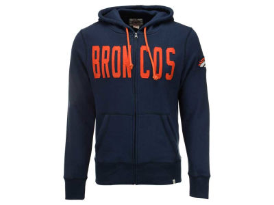 Denver Broncos '47 NFL Men's Cross Check Full Zip Hoodie
