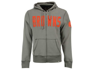 Cleveland Browns '47 NFL Men's Cross Check Full Zip Hoodie