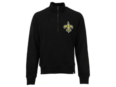 New Orleans Saints '47 NFL Men's Cross Check 1/4 Zip Shirt