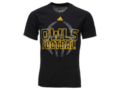 Kennesaw State Owls adidas NCAA Men's Sideline Helmet Shock T-Shirt