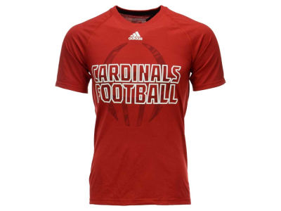 Louisville Cardinals adidas NCAA Men's Sideline Helmet Shock T-Shirt