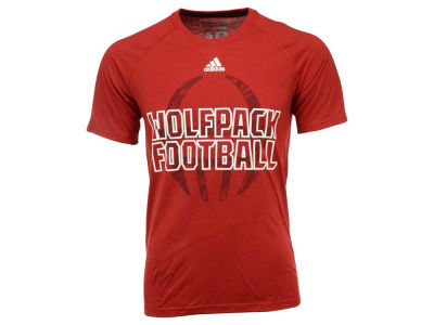 North Carolina State Wolfpack adidas NCAA Men's Sideline Helmet Shock T-Shirt