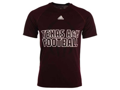 Texas A&M Aggies adidas NCAA Men's Sideline Helmet Shock T-Shirt