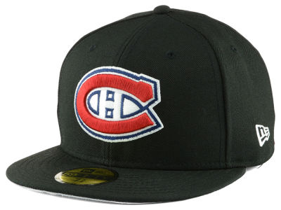 Montreal Canadiens New Era NHL Side Patch Collection 59FIFTY Cap