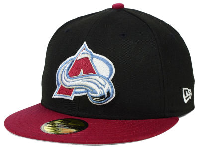 Colorado Avalanche New Era NHL Side Patch Collection 59FIFTY Cap