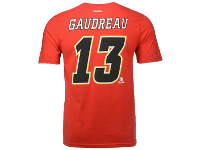 Calgary Flames Johnny Gaudreau NHL CN Youth Player T-Shirt