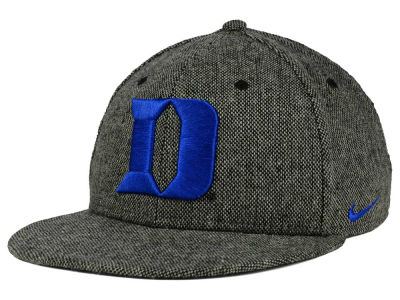 Duke Blue Devils Nike NCAA True Tweed Snapback Cap