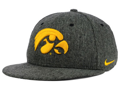 Iowa Hawkeyes Nike NCAA True Tweed Snapback Cap