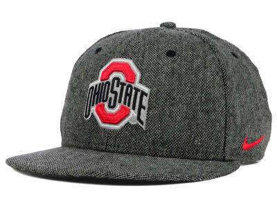 Ohio State Buckeyes Nike NCAA True Tweed Snapback Cap
