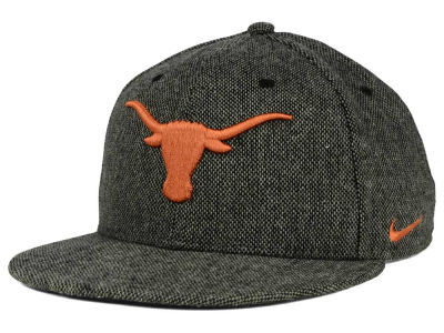 Texas Longhorns Nike NCAA True Tweed Snapback Cap