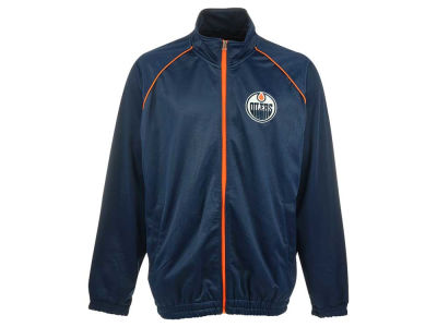 Edmonton Oilers NHL Men's Rubber Game Track Jacket