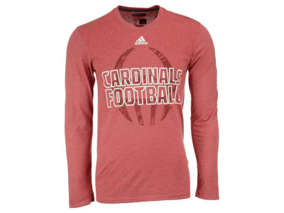 Louisville Cardinals adidas NCAA Men's Sideline Helmet Shock Long Sleeve T-Shirt