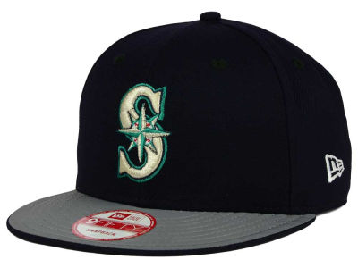 Seattle Mariners New Era MLB Team Reflect 9FIFTY Snapback Cap