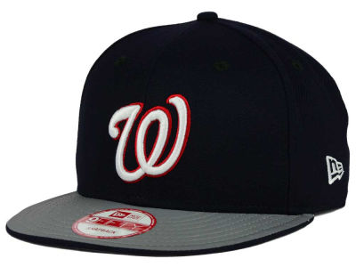 Washington Nationals New Era MLB Team Reflect 9FIFTY Snapback Cap
