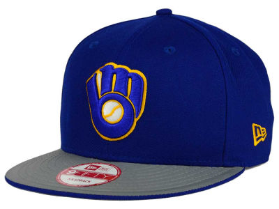 Milwaukee Brewers New Era MLB Team Reflect 9FIFTY Snapback Cap