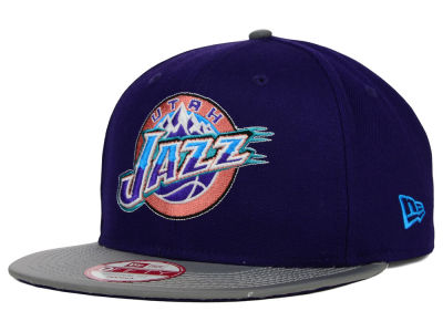 Utah Jazz New Era NBA HWC Team Reflect 9FIFTY Snapback Cap