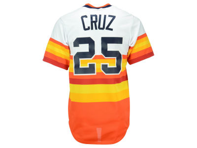 Houston Astros Jose Cruz Sr Majestic MLB Men's Cooperstown Player Replica CB Jersey