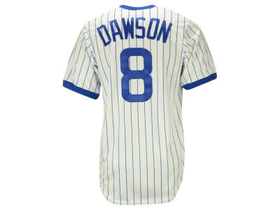 Chicago Cubs Andre Dawson Majestic MLB Men's Cooperstown Player Replica CB Jersey