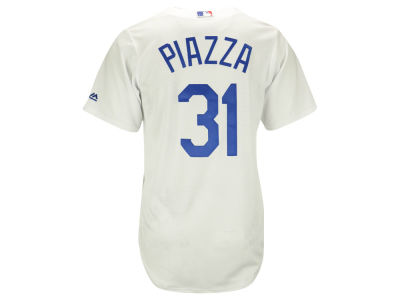 Los Angeles Dodgers Mike Piazza Majestic MLB Men's Cooperstown Player Replica CB Jersey