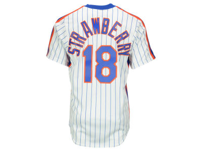 New York Mets Darryl Strawberry Majestic MLB Men's Cooperstown Player Replica CB Jersey