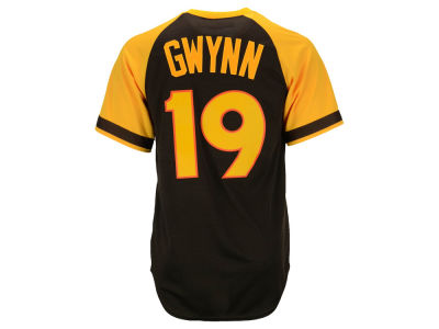 San Diego Padres Tony Gwynn Majestic MLB Men's Cooperstown Player Replica CB Jersey