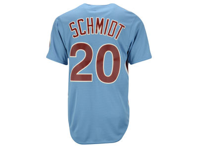 Philadelphia Phillies Mike Schmidt Majestic MLB Men's Cooperstown Player Replica CB Jersey