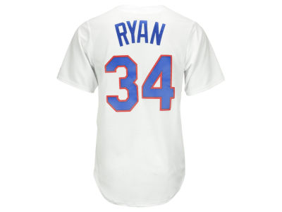 Texas Rangers Nolan Ryan Majestic MLB Men's Cooperstown Player Replica CB Jersey