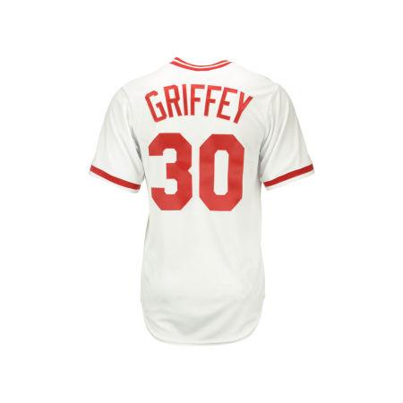 Cincinnati Reds Ken Griffey Sr Majestic MLB Men's Cooperstown Player Replica CB Jersey